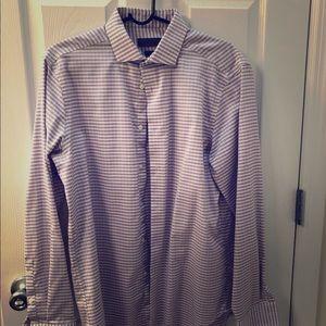 Pink Slim non-iron Dress Shirt 16 34/35